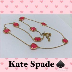 NWOT Kate Spade ♠️ Pink Statement Necklace
